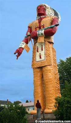 World's largest Hiawatha