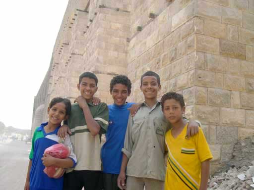 Five kids in Cairo who helped me find my way