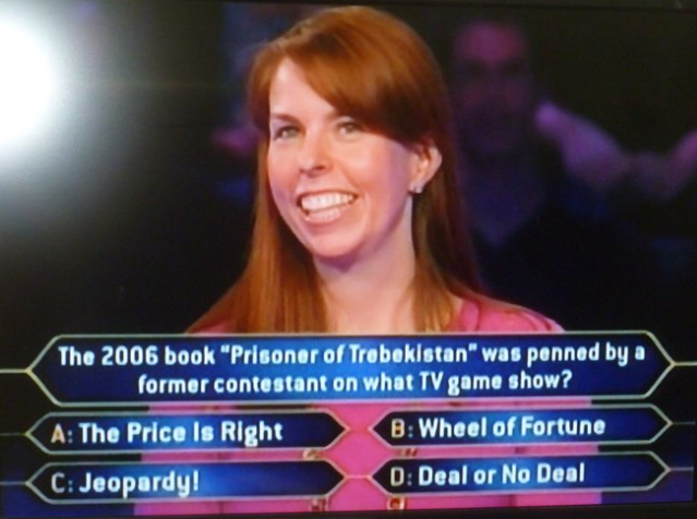 My Jeopardy Memoir On Millionaire When Worlds Collide